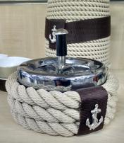 Posacenere antiodore in corda