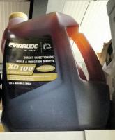 EVINRUDE Olio XD 100 3.8 lt